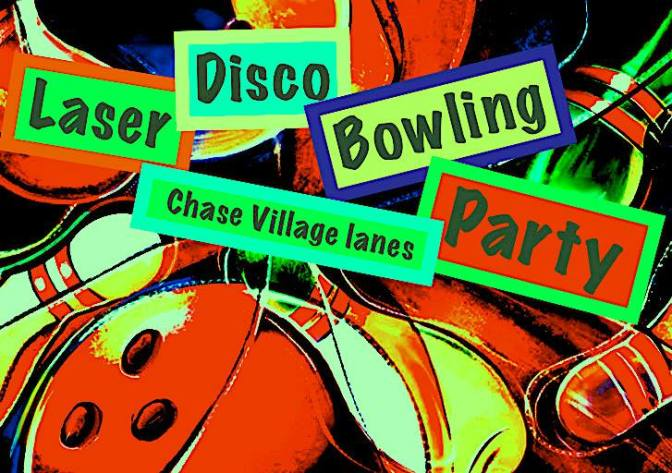 Laser Disco Bowling Party
